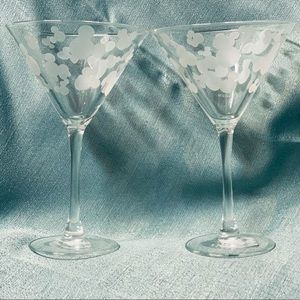 Disney Martini Glass set